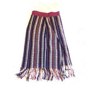 Zara ⚪️🟠⚫️ skirt